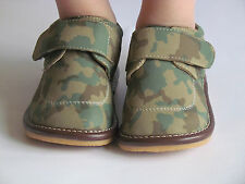 Squeaky Shoes for Toddlers - Boys Camo Print Squeaky Shoes, Up to Size 7