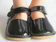Toddler Shoes - Squeaky Shoes - Black Patent Leather, Mary Jane, Up to Size 7