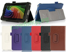 "High Quality Hand Strap PU Leather Case Card Wallet For Toshiba Excite 7"" AT7-B8"