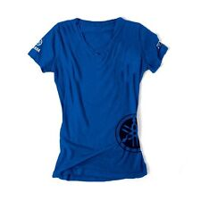 YAMAHA WOMENS T-Shirt Royal Blue Adult Genuine NEW Tee Shirt S M L XL