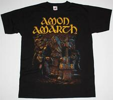 AMON AMARTH THOR DEATH VIKING METAL ENSIFERUM TYR FINNTROLL NEW BLACK T-SHIRT