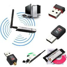 USB Wifi Wireless Adapter Mini Lan Network Internet Card Antenna 150Mbps/300Mbps