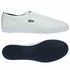 LACOSTE MENS MARCEL USN SPM WHITE/BLUE TRAINERS 7 8 9 10 11 12 SNEAKERS SHOES