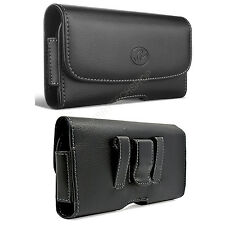 Leather Belt Clip Case Holster for Cell Phones COMPATIBLE WITH Otterbox Commuter