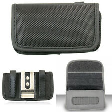 Pouch Case for Samsung Phones Horizontal Fortified Nylon Belt Clip Holster Cover