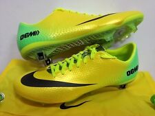 NIKE MERCURIAL VAPOR IX FG ACC YELLOW FOOTBALL SOCCER BOOTS CLEATS