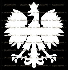 Polish Eagle Symbol / Mascot / Coat of Arms - Vinyl Die-Cut Peel N' Stick Decal