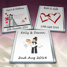 50 Personalised Chocolate Wedding.Favours*Birthday*Party*.TOP QUALITY*4 Flavours