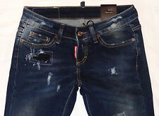 New Women ELASTIC jeans DSQUARED 2 * Lady DSQ  jeans * CLOSE OUT SALE!