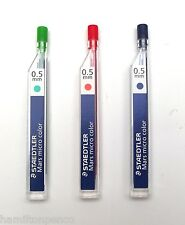 STAEDTLER MARS MICRO COLOUR LEAD REFILLS - 0.5mm 3 colours available