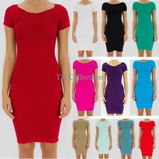 New Sexy Fashion Women's Short Sleeve Mini Dress Ladies Casual Party Dress/Club