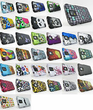 for Samsung Galaxy S V 5 S5 Design 2 Piece Hard Shell Case Cover +PryTool