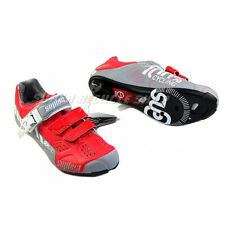 New Suplest SUPZERO Cycling Racing Shoes, Red x Grey