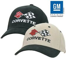 C4 Corvette  Low Profile 100% Brushed Cotton Twill Hat ** Official Licensed
