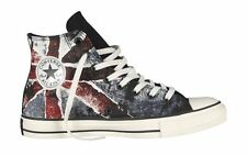 Converse Chuck Taylor All Star High-Top Black/Chili Pepper/Vintage Indigo Flag S