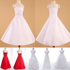 Stylish Flower Girl Bridesmaid Evening Wedding Formal Prom Party Banquet Dresses
