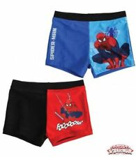 New Boys Spiderman Swimming Shorts Spiderman Trunks Age 3-10 Years