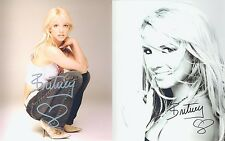 """Britney Spears 10 x 8"""" Signed PP Autograph"""