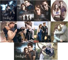 "Twilight - Robert Pattinson & Kristen Stewart 10 x 8"" Signed PP Autograph"