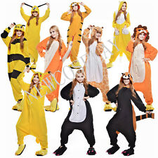 Unisex Adult Outfit Kigurumi Pajamas Animal Cosplay Costume Onesie Sleepwear