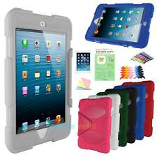 New DUST SHOCK PROOF MILITARY TOUGH PROTECTIVE RIGID CASE FOR APPLE IPAD MINI