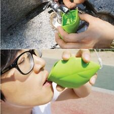 Portable Type Cup Hiking Leaf Silicone Pocket Cup