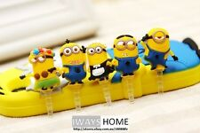 Minions Despicable Me Dust-proof 3.5mm Ear Plug Cap Iphone5s/4s Ipod Sumsung HTC