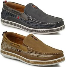 New Men Brixton Boat Shoes Driving Moccasins Slip On Loafers Dacio09