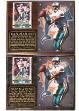 Dan Marino #13 Miami Dolphins Legend NFL Pro Football Hall of Fame Photo Plaque