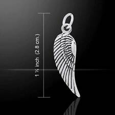Delightfully crafted Angel Wing Silver Charm - in .925 sterling silver