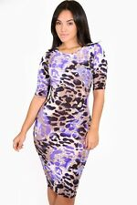 Party Cocktail Casual Nightclub Dressy Purple Cougar Bodycon Dress giti online