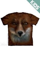 THE MOUNTAIN BIG FACE FOX CUTE ANIMAL WILD FOREST YOUTH KIDS TEE T SHIRT S-XL