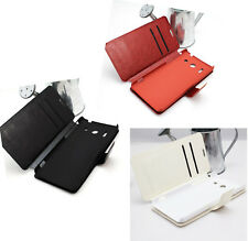 Nice Leather Flip Cards Hold Wallet Stand Hard Case Cover For Huawei Ascend G510