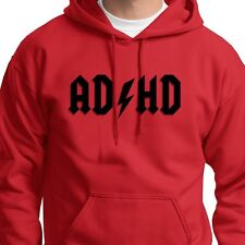 AD/HD Funny Rock and Roll Classic T-shirt ACDC Hyper Hoodie Sweatshirt