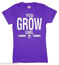 Case IH Youth Girl T Shirt - You Grow Girl - Size S, M or L