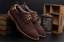NEW 2014 Suede European style leather Shoes Men's oxfords Casual