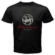 SHOTOKAN KARATE MARTIAL ARTS SYMBOL BLACK T-SHIRT SIZE S -3XL AV