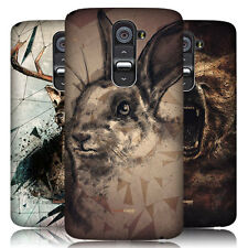 HEAD CASE POLY SKETCH PROTECTIVE SNAP-ON HARD BACK CASE COVER FOR LG G2 D802