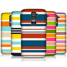 HEAD CASE STRIPES COLLECTION 2 PROTECTIVE SNAP-ON BACK CASE COVER FOR LG G2 D802