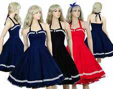 Vintage Dancing Party Rockabilly Swing Jive Polka Ball Prom Party 50's 60s Dress