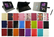 "UNIVERSALE MULTI ANGOLO Wallet Case Cover Folio per 9,7 "" & 10"" Tablet & Stylus"