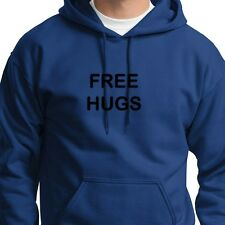 FREE HUGS Peace Party Friendship T-shirt Funny Huggers Day Hoodie Sweatshirt