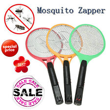 Rechargeable Cordless Electric Zapper Pest Fly Mosquito Swatter Killer Racket HK