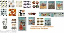 Jolee's Boutique HALLOWEEN STICKERS dimensional stickers Many Styles U pick!