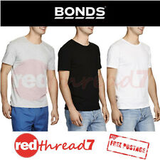 BONDS Mens Besties Basic Tee Black Cotton Crew Neck Tshirt T Shirt Top White New