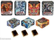 Yu-gi-oh Collectors Tin Empty PLUS 50/100/150/200 Yugioh Cards Take Your Pick !
