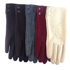 2014 NEW STYLE Women Lady's winter warm wool Thinsulate gloves mitten