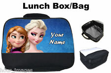 Personalised Children & Adult Lunch Bag & Drink Bottle Any Name & Image Gift