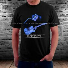 NEW JACK WHITE THE WHITE STRIPES GUITARIST SHORT SLEEVE TEE  T-SHIRTS SIZE S-XXL