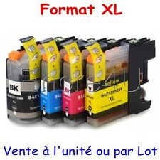 Encres compatibles Brother MFC J4410DW : cartouches LC123 XL x1 4 5 8 9 10 12 16
